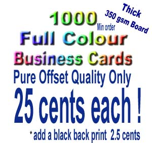 Click for business card  deals.